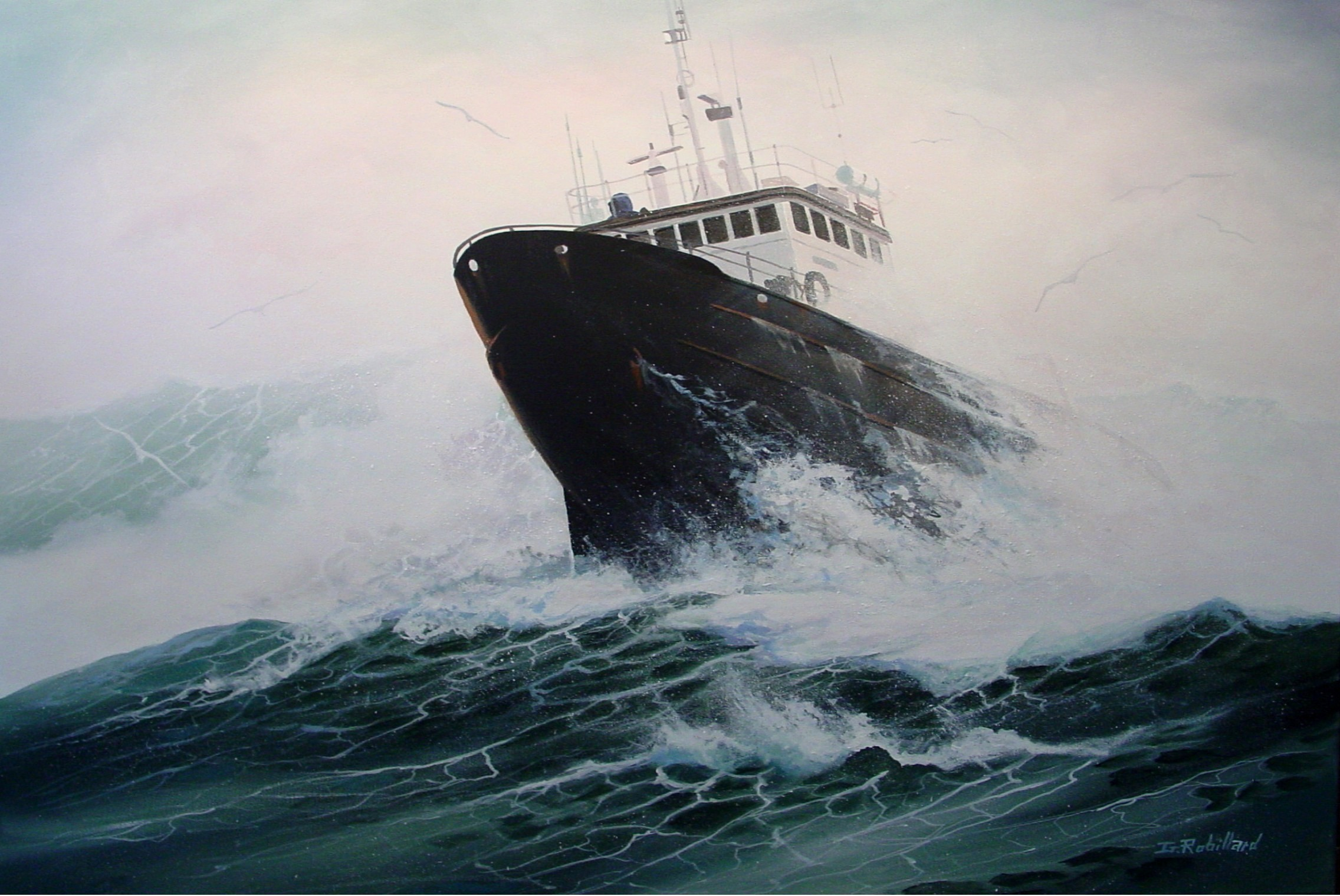 Ships In Rough Seas | www.pixshark.com - Images Galleries ...